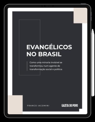 Capa E-book Evangélicos do Brasil